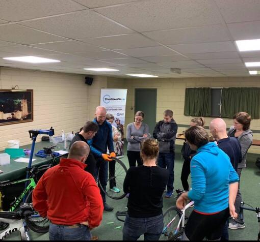 Does your club or group need an evening basic maintenance? TheBikeFix.ie provides classes.-1